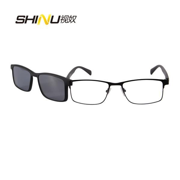 FuzWeb:Women Men Megnetic Clip On Glasses Polarized Clip