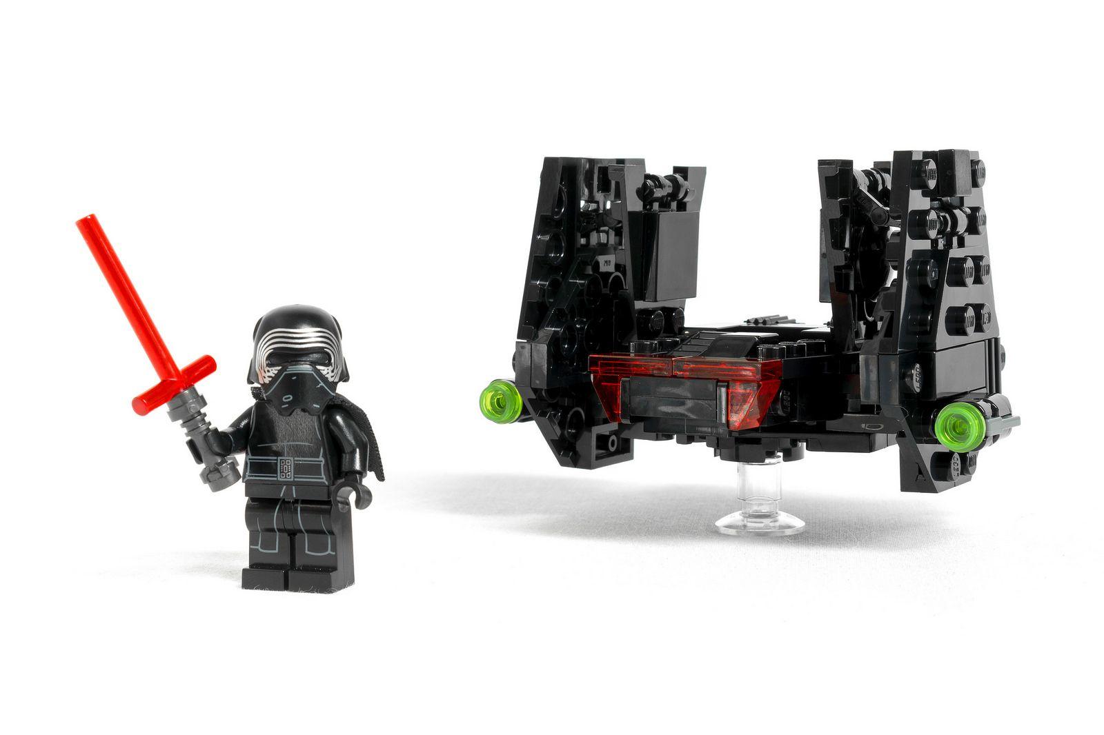 Lego Kylo Ren S Shuttle Micro Fighter Lego Kylo Ren Lego Kylo Ren Shuttle Kylo Ren Shuttle