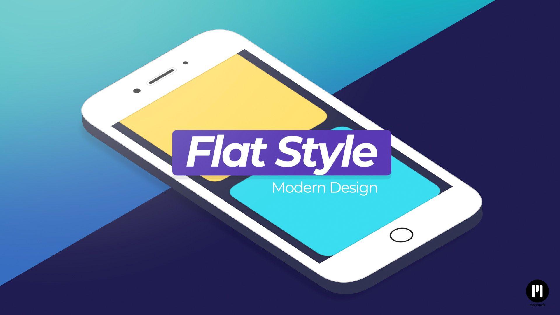 Flat Design Smartphone APPLE MOTION TEMPLATE arrived - www.motionvfx.com/N2329 #FCPX #Motion5 #AppleMotion #FinalCutProX #V… | Design. Motion 5 ...