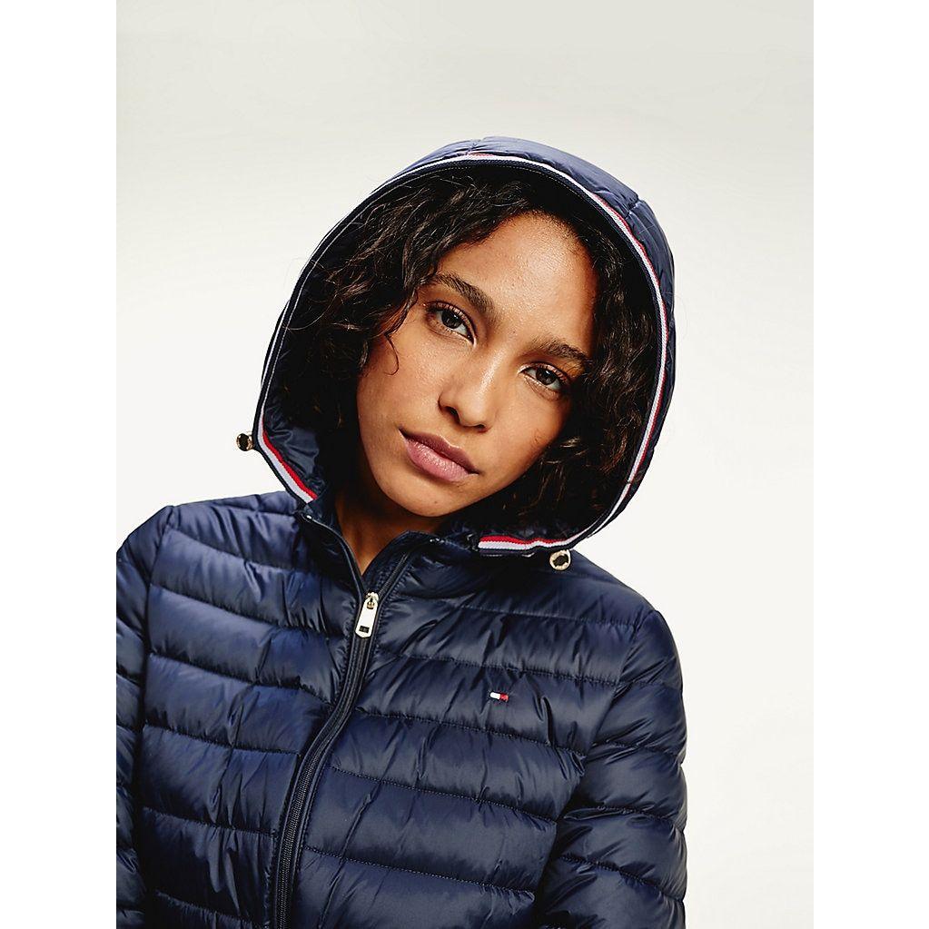 Essential Packable Down Jacket Blue Tommy Hilfiger Women S Coats Jackets Coats For Women Jackets [ 1023 x 1023 Pixel ]