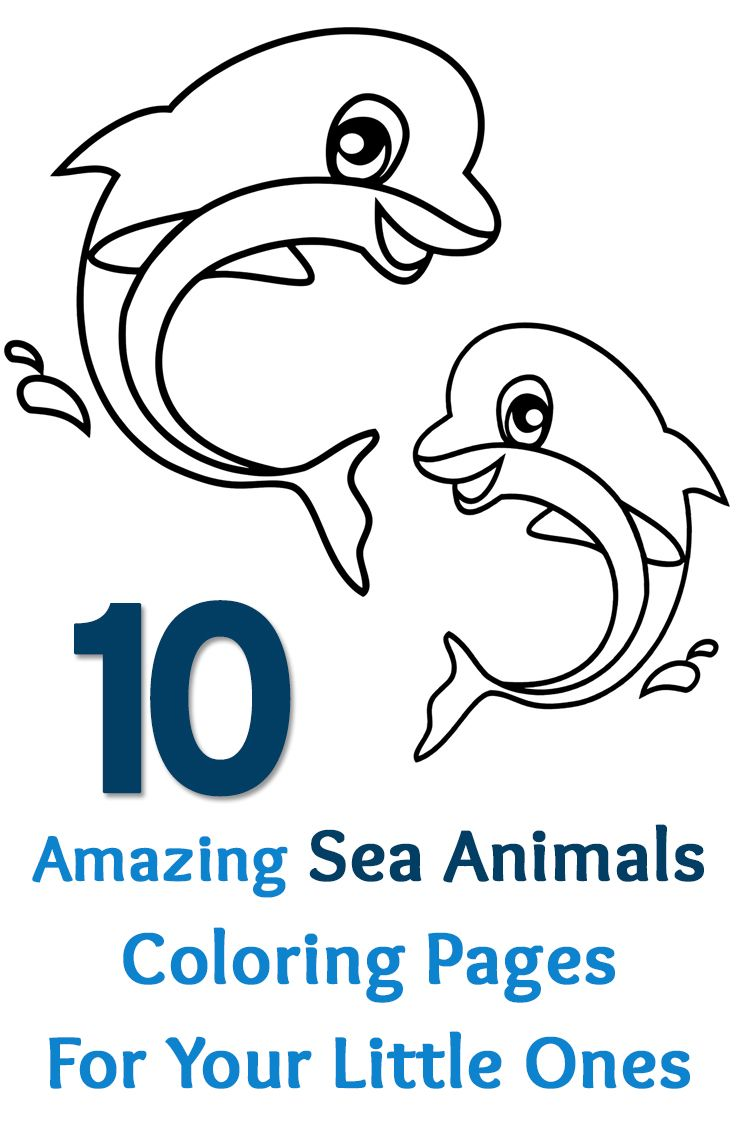 top 15 free printable sea animals coloring pages online - Free Printable Sea Life Coloring Pages