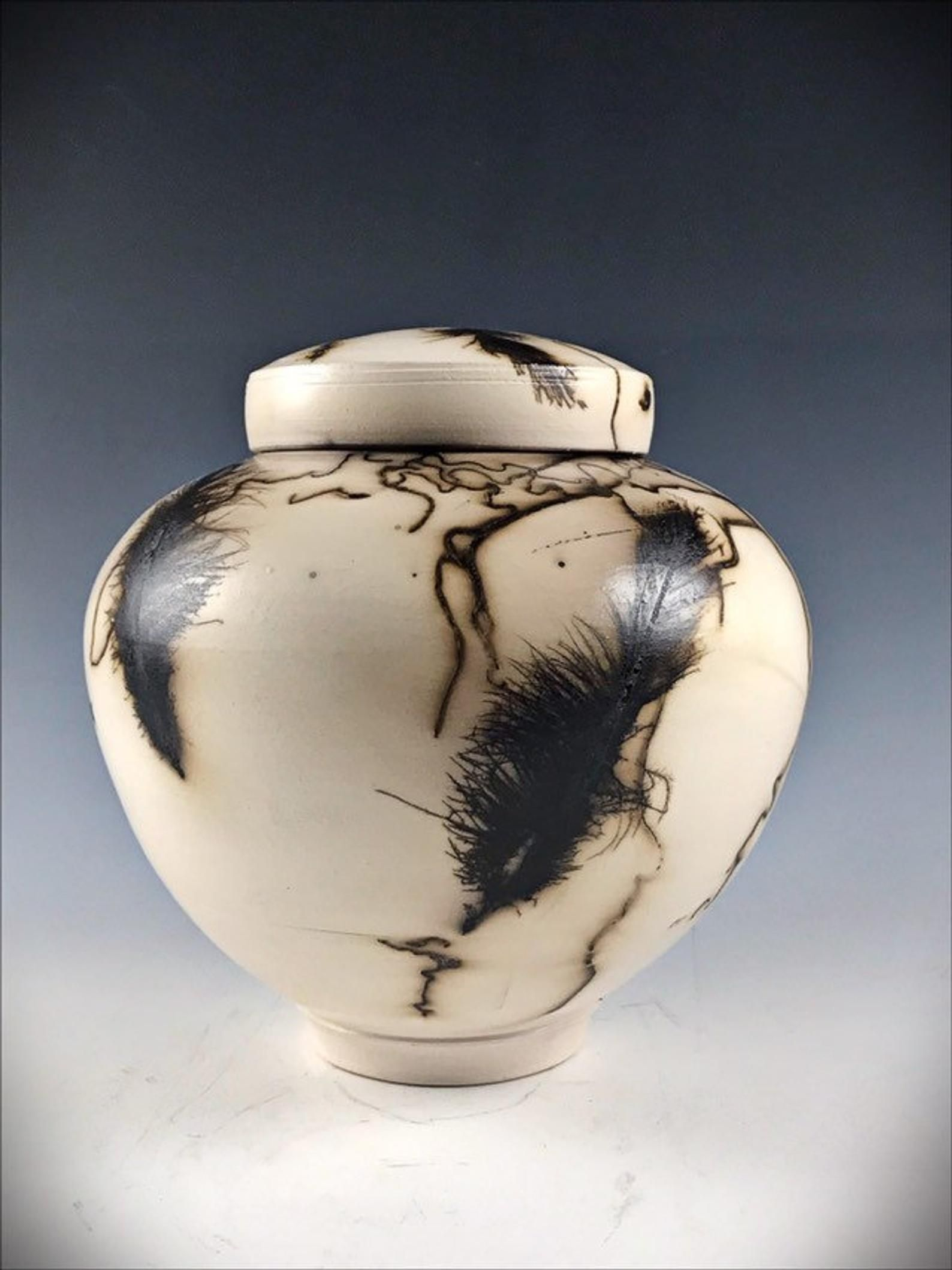 Ceramic Pet Urn Urn or Keepsake Urn Horsehair Alternative
