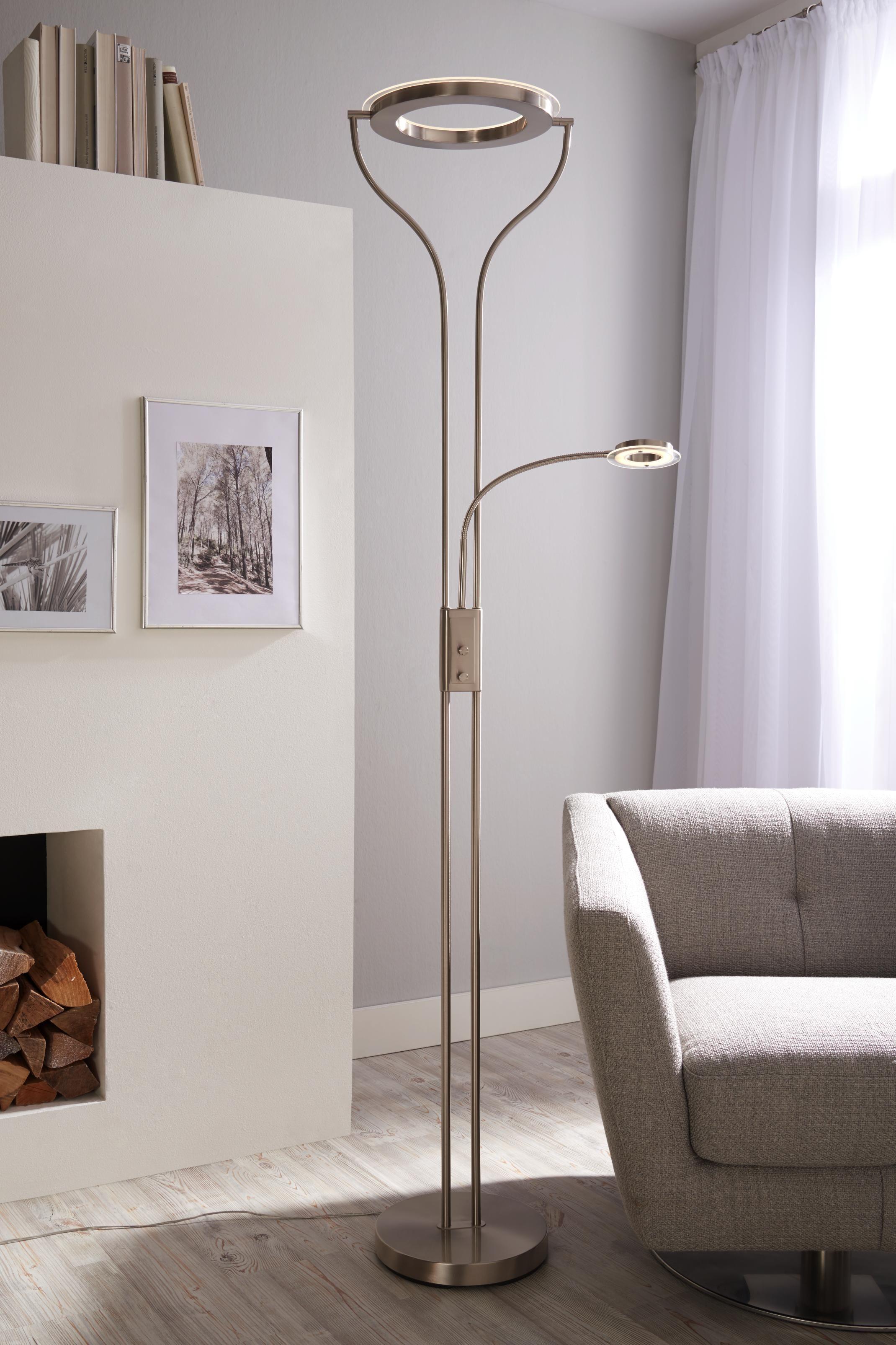 elegante stehleuchte fur ihr wohnzimmer von novel