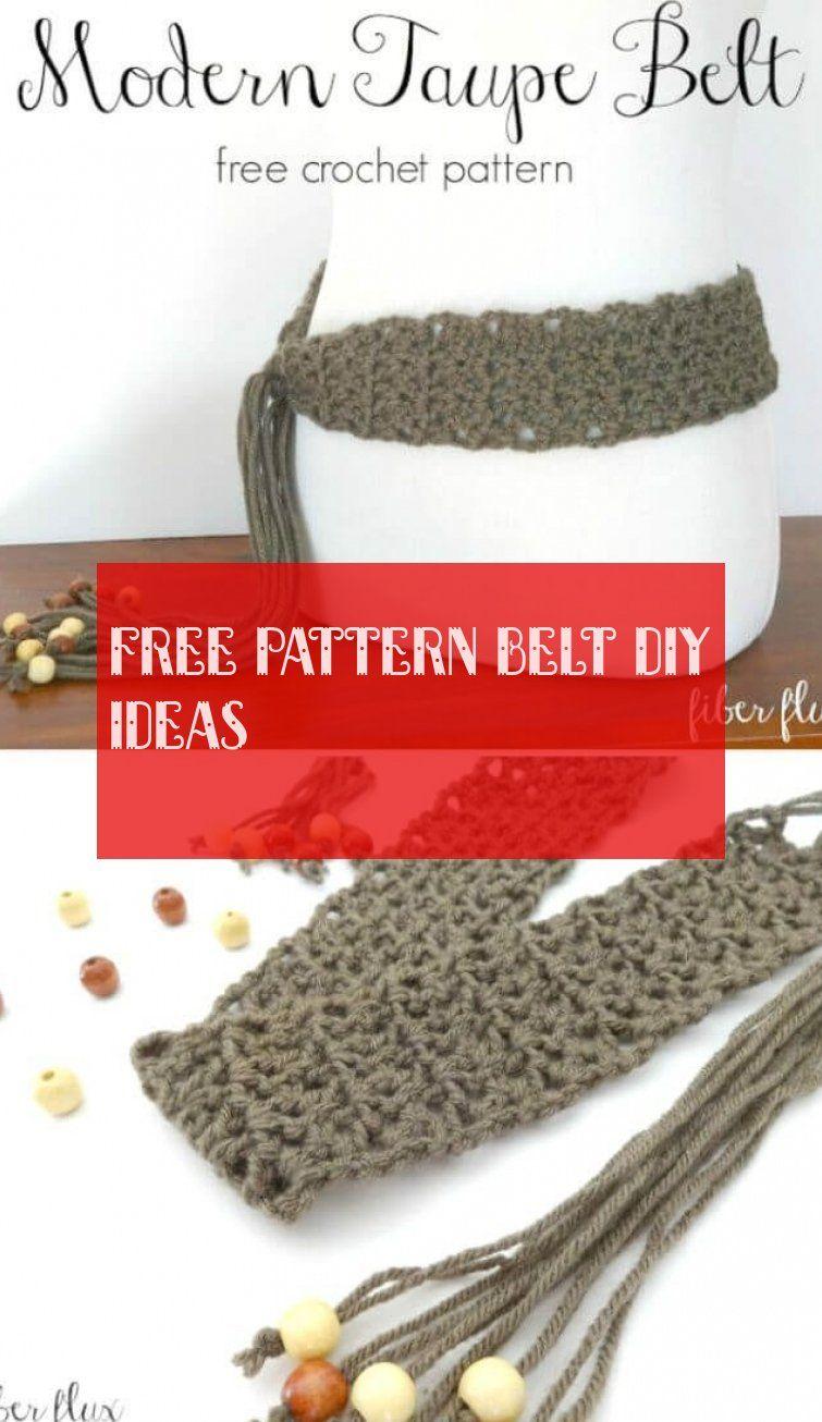 Free Pattern belt diy ideas