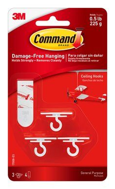 Command Products Ceiling Hooks Bedroom Diy Command Hooks