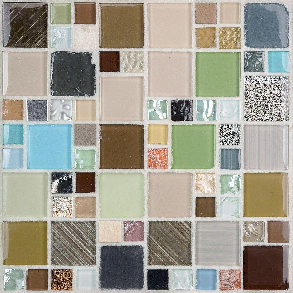 Palatial Skies Glass Amp Stone Tile Tilebar Com Stone Tiles Glass Mosaic Tiles Bath Tiles