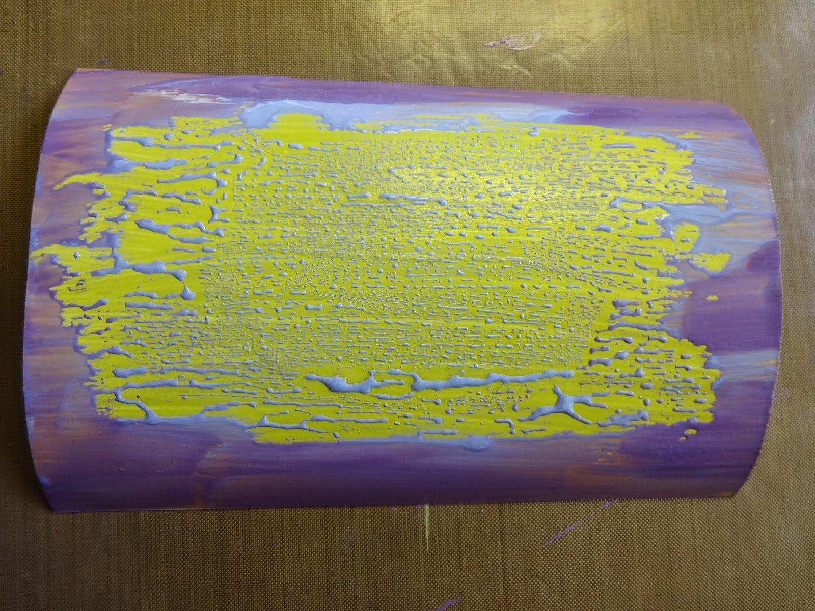 De Stempelwinkel - Designteam : Vaseline Paint Techniek