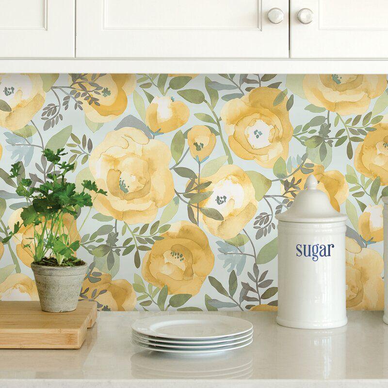 Hassel 18 L X 20 5 W Peel And Stick Wallpaper Roll Nuwallpaper Peel And Stick Wallpaper Self Adhesive Wallpaper