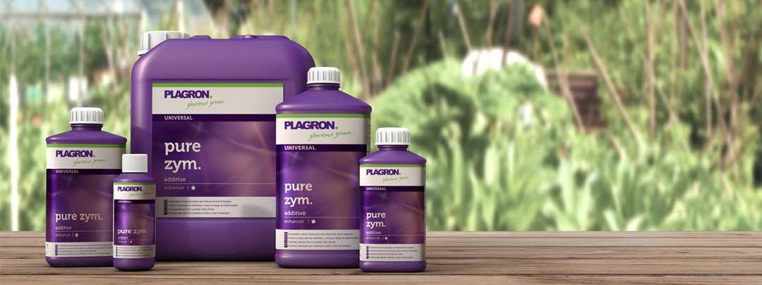 Estimula la vitalidad del suelo de tu cultivo con Pure Zym de Plagron