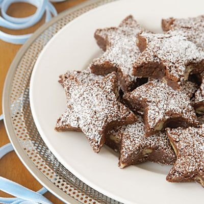 star shaped brownies