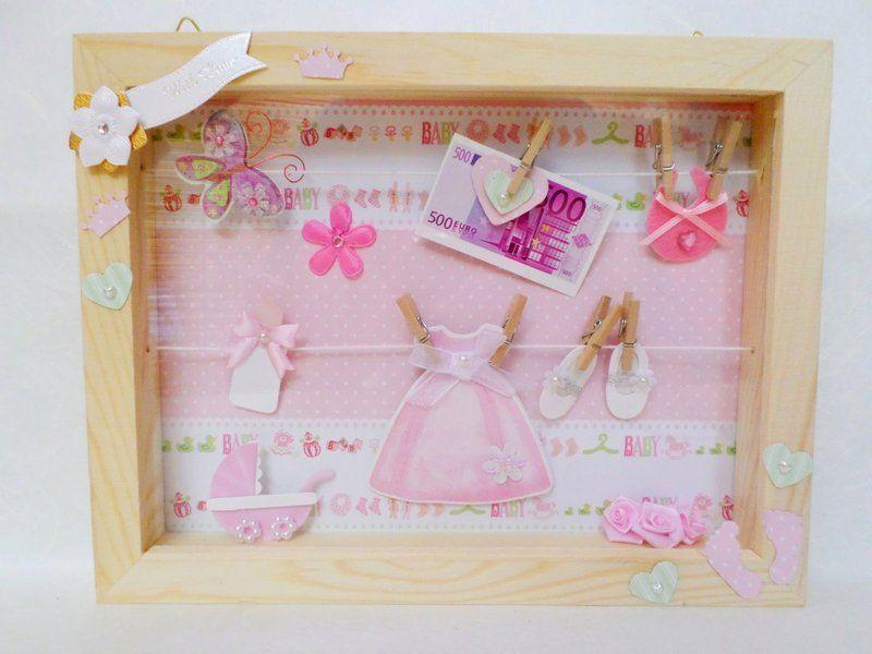 geldgeschenk baby m dchen von geldgeschenke auf geschenke zur geburt pinterest. Black Bedroom Furniture Sets. Home Design Ideas