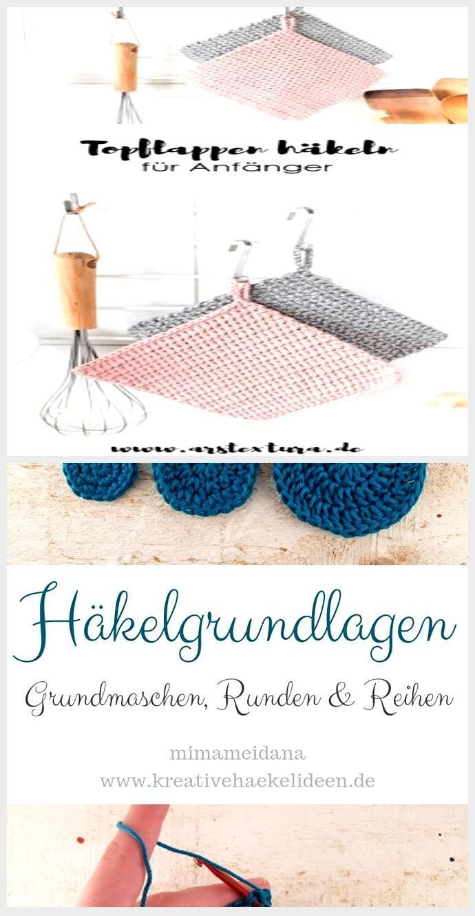 Photo of Crochet pattern: crochet pot holder for beginners with step-by-step instructions …