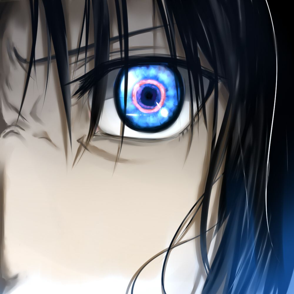 Anime Characters With 3 Eyes : Shiki ry gi kara no kyoukai the garden of sinners