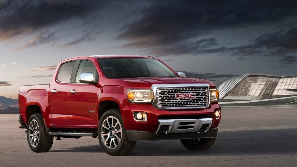 2018 Gmc Canyon Denali Essentials Plenty Of Truck In A Smaller