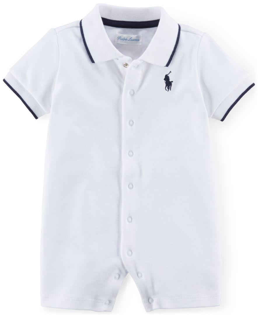Ralph Lauren Polo Baby Boy/'s Boy Size 18 Months NWT NEW Outfit 1PC Color Block