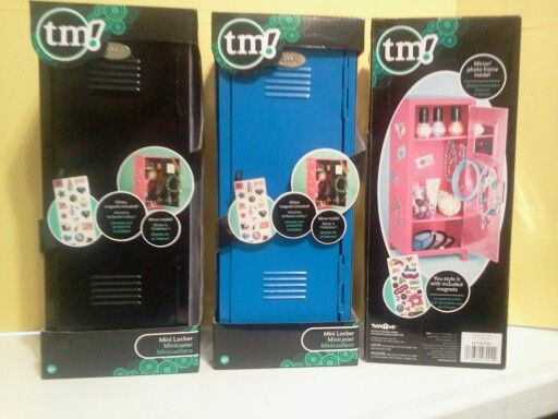 Found these mini lockers at Toys R Us for 16 99 They e