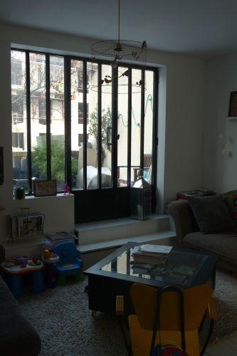 les f es d co fenetre acier atelier places to visit pinterest deco fenetre acier et la f e. Black Bedroom Furniture Sets. Home Design Ideas