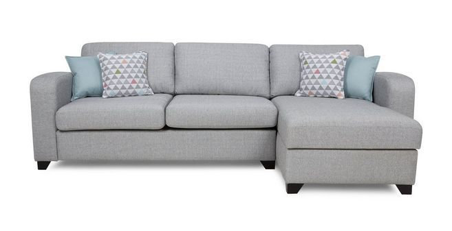 Lydia Right Hand Facing Chaise End 3 Seater Sofa DFS