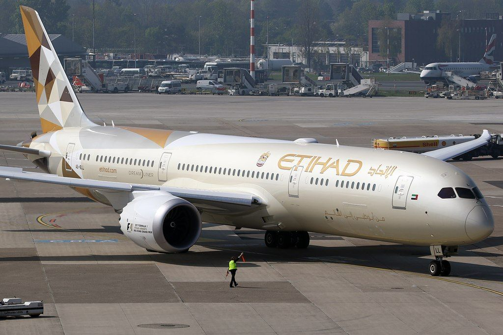 Etihad Airways Fleet Boeing 7879 Dreamliner Details and