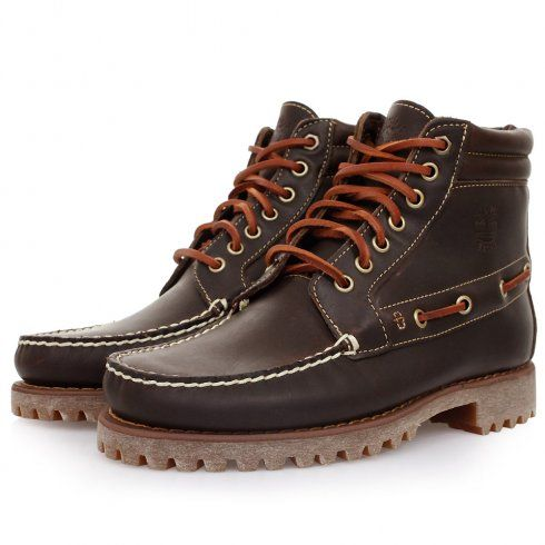 Timberland Timberland 7 Eye Dark Brown Chukka Boots 242