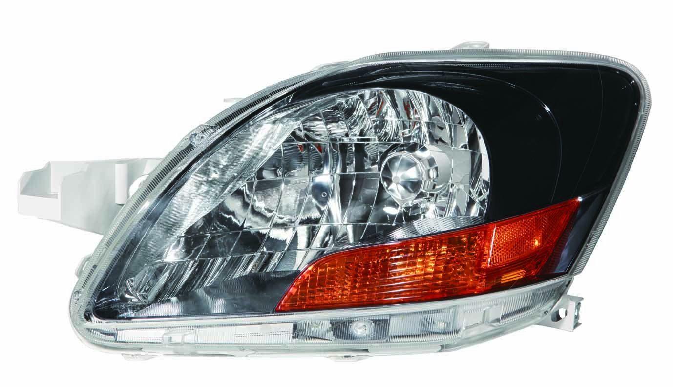 Toyota Yaris Sedan 07-09 S Model / 10-11 Base Model With Sport Package Headlight Unit LH USA Driver Side NSF