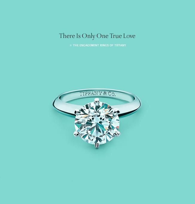 Tiffany Advertising Tiffany Engagement Ring Tiffany Engagement Tiffany Diamond Ring