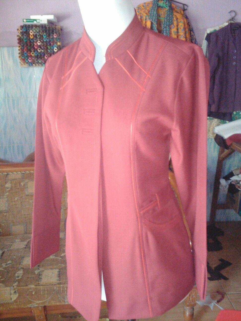 Mengerjakan Jass Blazzer Safari Celana Baju Seragam Kantor Celia Rok Pant