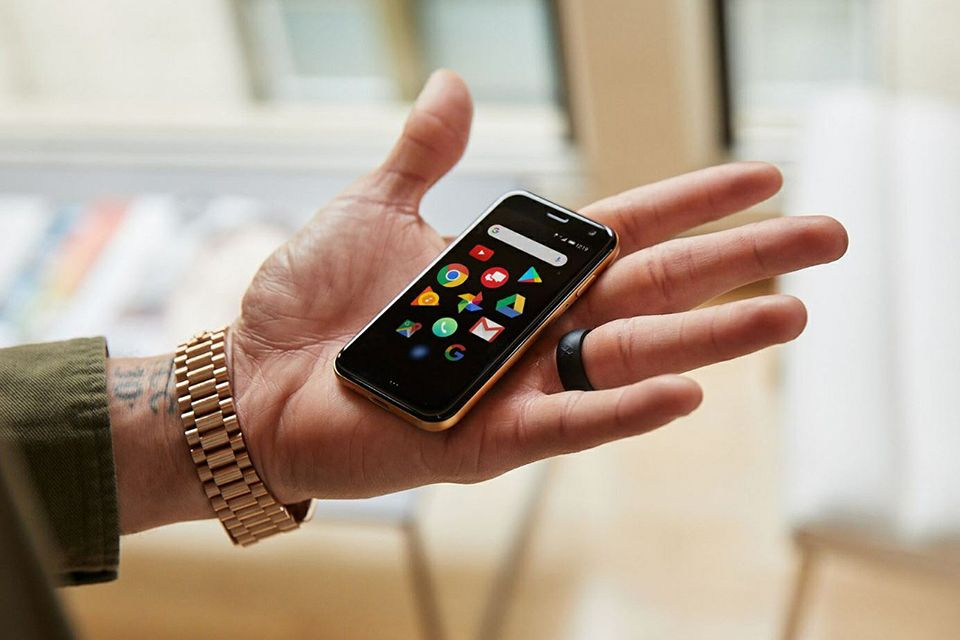 New Palm Smartphone Is About The Size Of A Credit Card See More