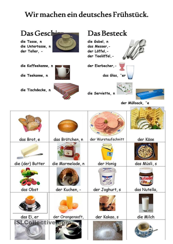Wir machen ein deutsches Frühstück | easy german | Pinterest ...
