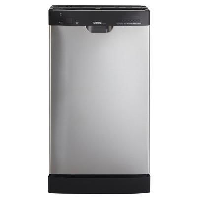 Danby - 18 Inch Stainless Built-In Dishwasher - DDW1899BLS ...