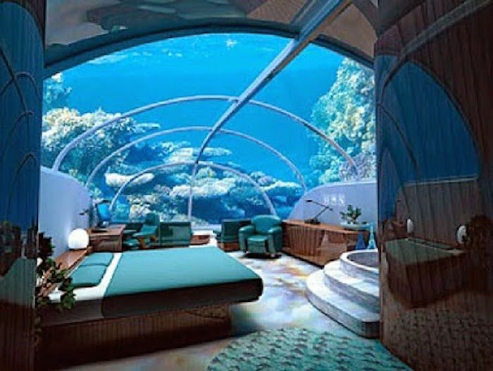 Dubai underwater hotel dubai hydropolis the hotel under for Burj al arab underwater room