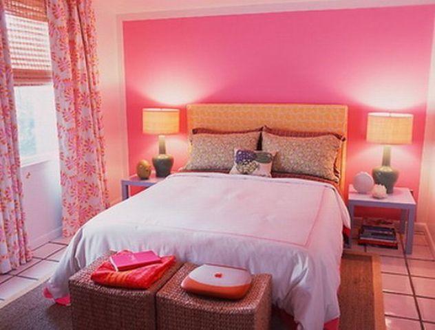 Bright Pink Bedroom Romantic Bedroom Design Pink Bedroom Design Bedroom Wall Paint