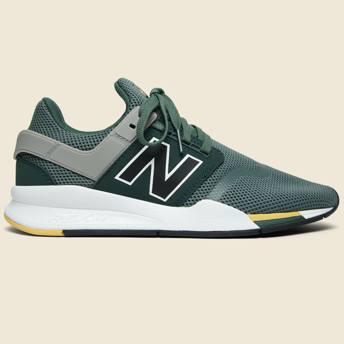 937b94f19819 The updated 247 V2 from New Balance is a sleek take on classic sneakers.  Innovative