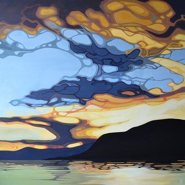 British Columbia artist, Erica Hawkes