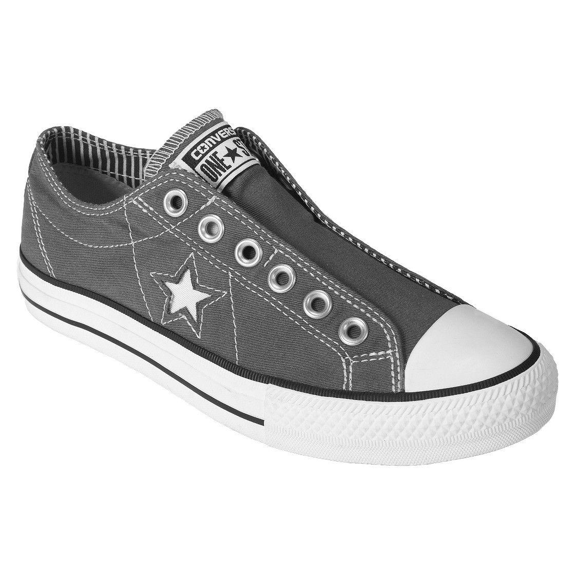 8ac3c25b33816d Women s Converse  One Star  Laceless Slip-on - Grey