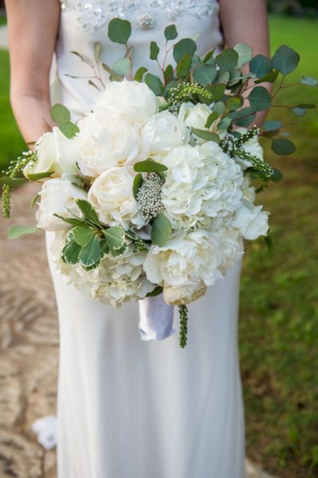 best silver dollar eucalyptus bouquet for wedding bouquet