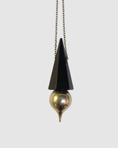 root chakra pendulum necklace