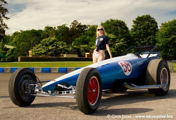 The Allard dragster, the UK's first home built dragster ...