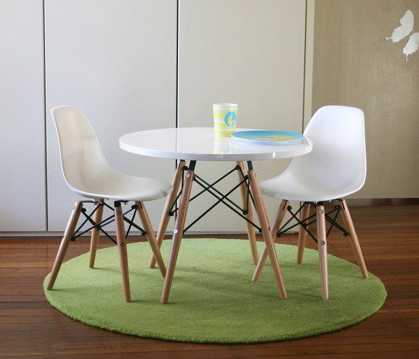 Wondrous Eames Style Kids Table And Chairs Kiddos Kids Table Cjindustries Chair Design For Home Cjindustriesco