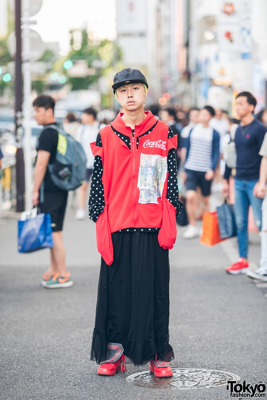 eb7d0c649c3e Harajuku Streetwear Style w  Deconstructed Jacket