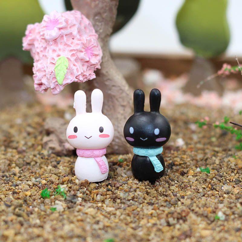 50x Miniature Dollhouse Fairy Garden Bonsai Landscape Figurine DIY Craft Decor