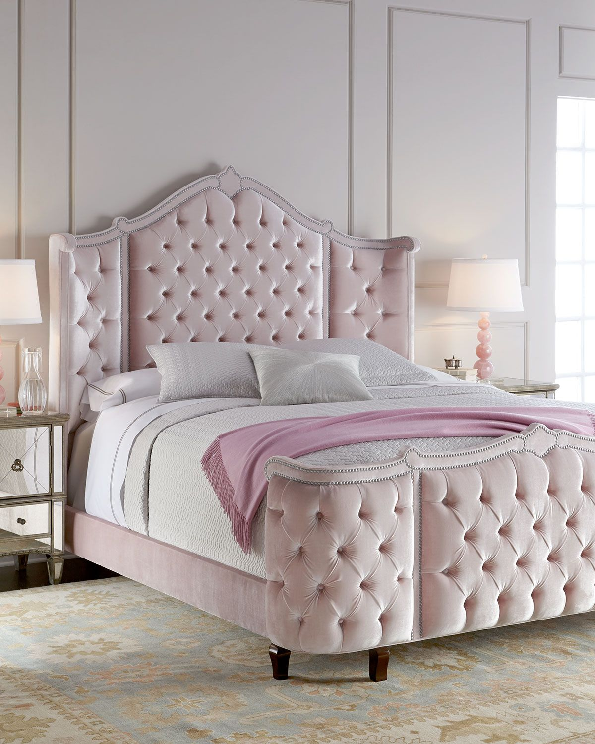 Haute House Pippa Tufted Beds Bedroom Decor Bedroom Furniture