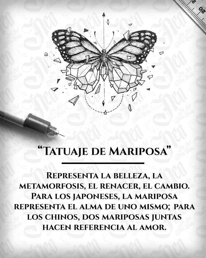 Tatuaje Mariposa Tatto Mariposa Tatuaje Tatuajes Con