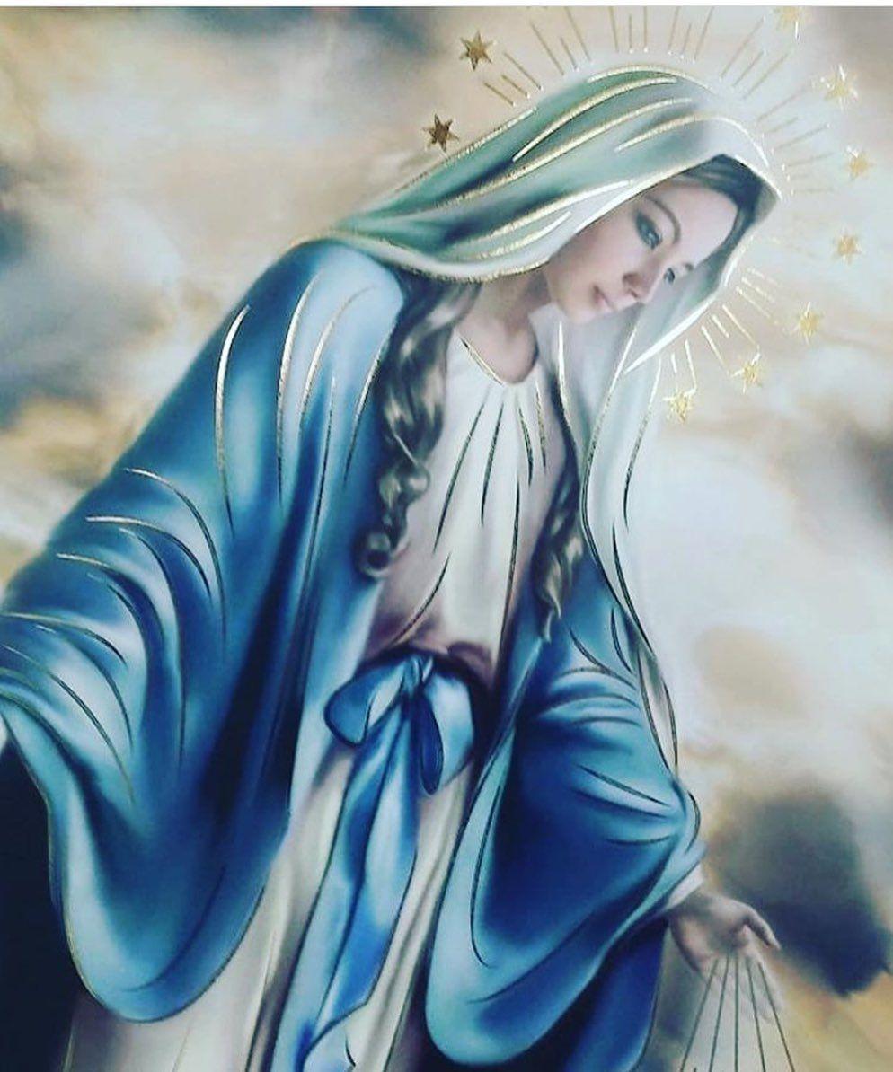 Consagración Mariana On Instagram Oración A La Virgen De La Medalla Milagrosa Postrado Ante Vuestro Acatamiento Virgen De La Art Virgin Mary Instagram