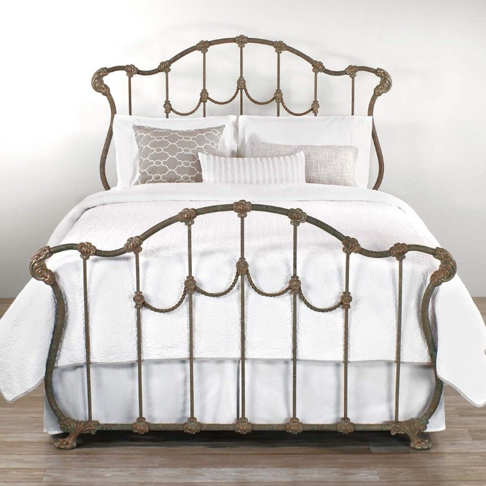Hamilton Iron Bed By Wesley Allen King Complete Bed In