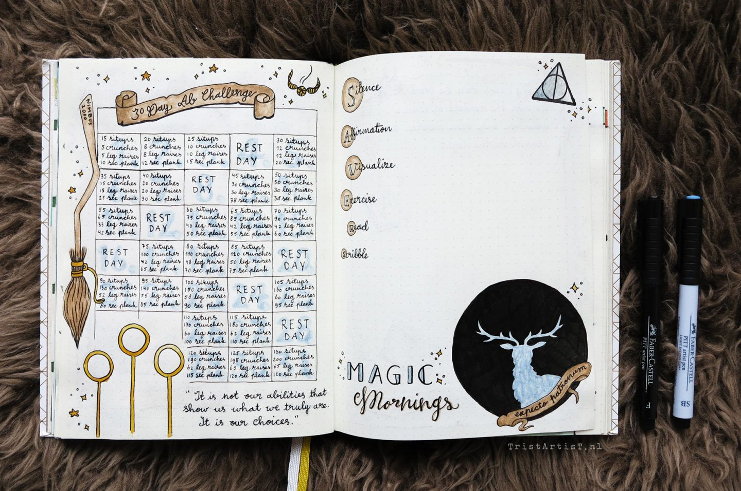 Bullet Journal Harry Potter Monthly Theme Stickers Bullet Journal Inspiration Bullet Journal Books Bullet Journal Ideas Pages