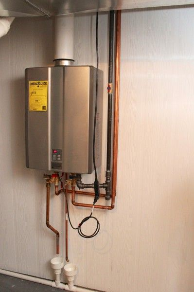 install rinnai tankless gas water heater