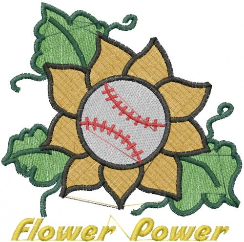 Flower Power Embroidery Design Annthegran Free Embroidery