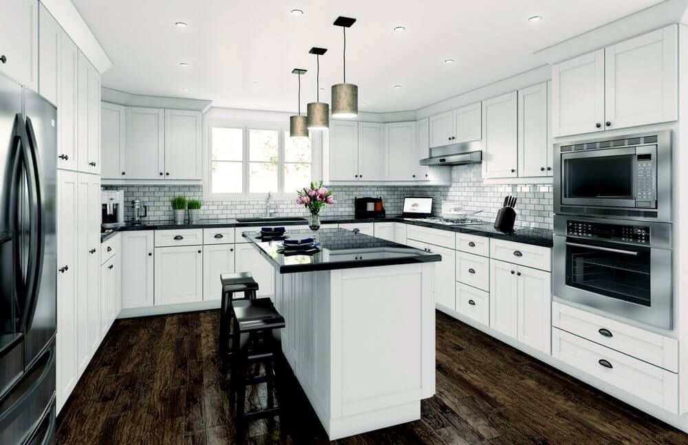 Best Aspen White Shaker Cabinets Best Selling Discounted 400 x 300