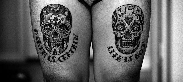 Death Is Certain Life Is Not Tattoos Varis Pinterest